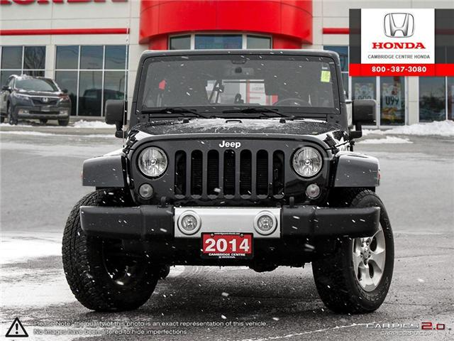2014 Jeep Wrangler Unlimited Sahara (Stk: 19403A) in Cambridge - Image 2 of 27