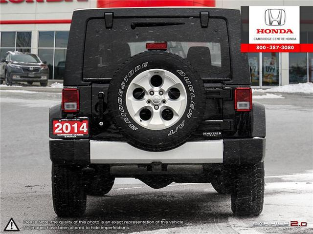 2014 Jeep Wrangler Unlimited Sahara (Stk: 19403A) in Cambridge - Image 5 of 27
