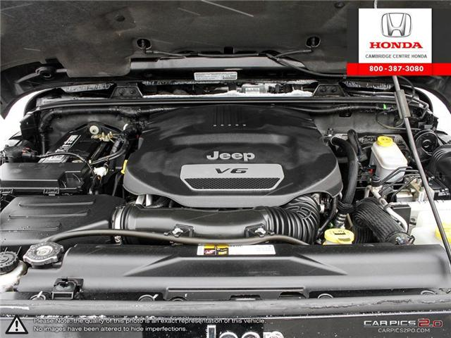 2014 Jeep Wrangler Unlimited Sahara (Stk: 19403A) in Cambridge - Image 8 of 27