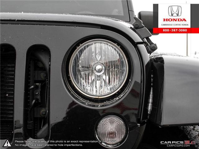 2014 Jeep Wrangler Unlimited Sahara (Stk: 19403A) in Cambridge - Image 10 of 27