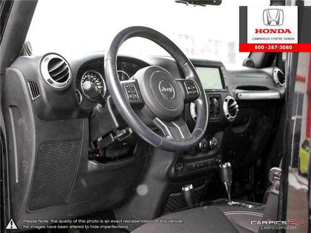 2014 Jeep Wrangler Unlimited Sahara (Stk: 19403A) in Cambridge - Image 13 of 27
