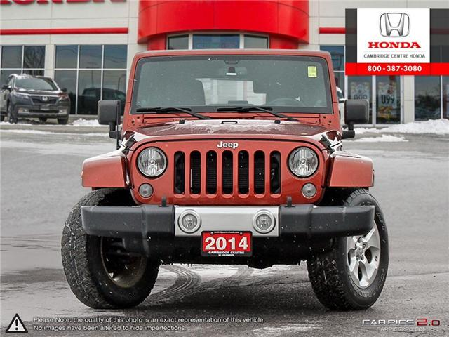 2014 Jeep Wrangler Unlimited Sahara (Stk: 19434A) in Cambridge - Image 2 of 27