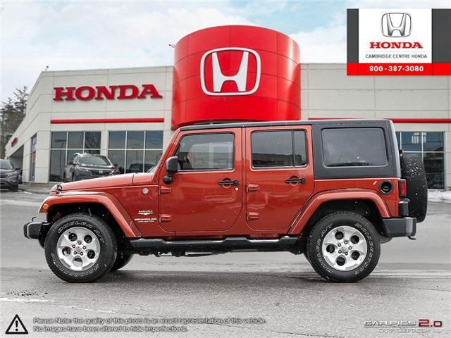 2014 Jeep Wrangler Unlimited Sahara (Stk: 19434A) in Cambridge - Image 3 of 27