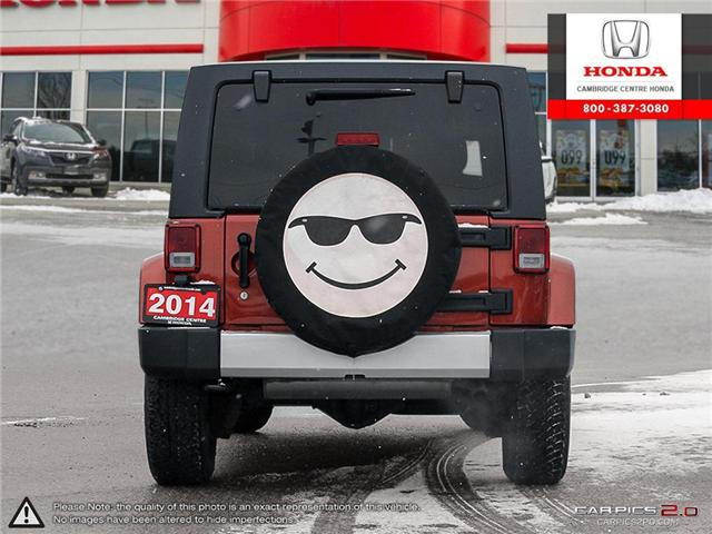 2014 Jeep Wrangler Unlimited Sahara (Stk: 19434A) in Cambridge - Image 5 of 27