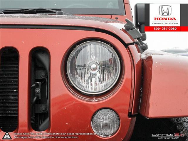 2014 Jeep Wrangler Unlimited Sahara (Stk: 19434A) in Cambridge - Image 10 of 27