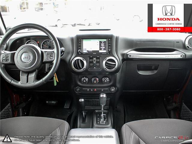 2014 Jeep Wrangler Unlimited Sahara (Stk: 19434A) in Cambridge - Image 25 of 27
