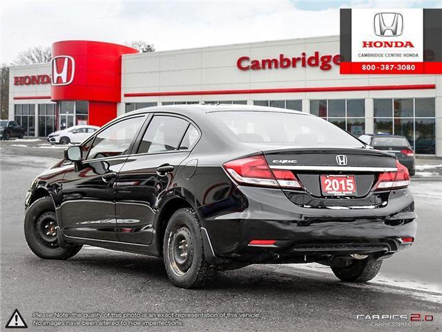 2015 Honda Civic EX (Stk: 19428A) in Cambridge - Image 4 of 27