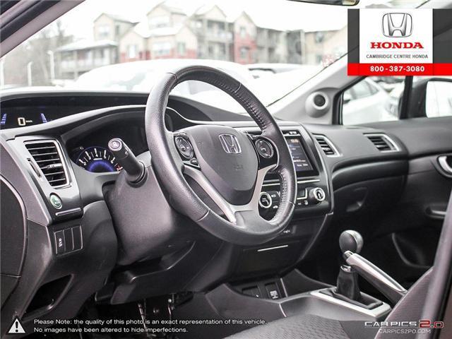 2015 Honda Civic EX (Stk: 19428A) in Cambridge - Image 13 of 27