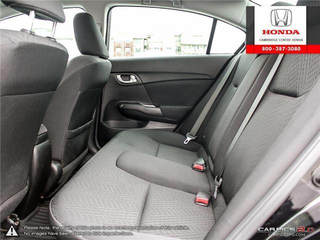 2015 Honda Civic EX (Stk: 19428A) in Cambridge - Image 24 of 27