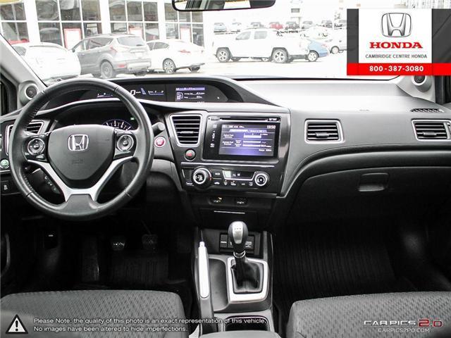 2015 Honda Civic EX (Stk: 19428A) in Cambridge - Image 25 of 27