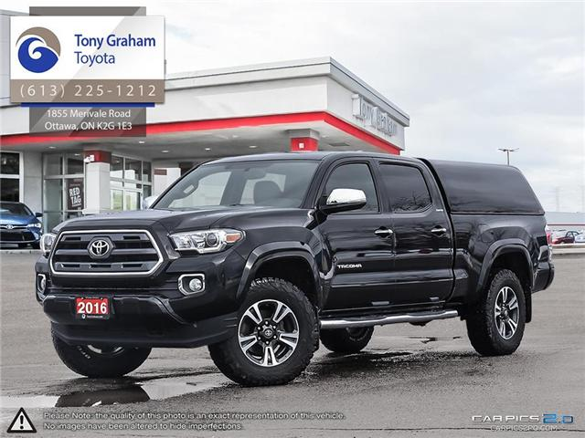 2016 Toyota Tacoma Limited (Stk: U9061) in Ottawa - Image 1 of 27