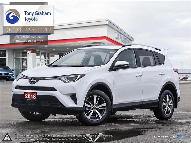 2018 Toyota RAV4 LE (Stk: U9065) in Ottawa - Image 1 of 28