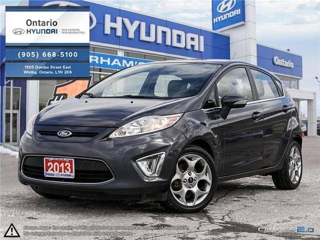 2013 Ford Fiesta Titanium (Stk: 06102K) in Whitby - Image 1 of 27
