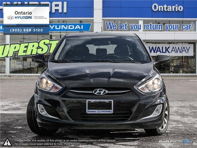 2017 Hyundai Accent SE / Hatchback (Stk: 41159K) in Whitby - Image 2 of 27