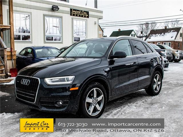 2015 Audi Q3 2.0T Progressiv (Stk: 004343) in Ottawa - Image 1 of 30