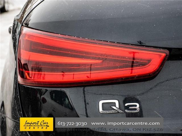 2015 Audi Q3 2.0T Progressiv (Stk: 004343) in Ottawa - Image 10 of 30