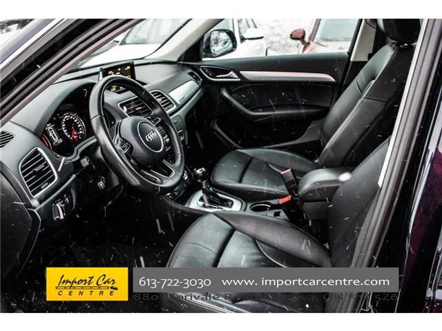 2015 Audi Q3 2.0T Progressiv (Stk: 004343) in Ottawa - Image 14 of 30