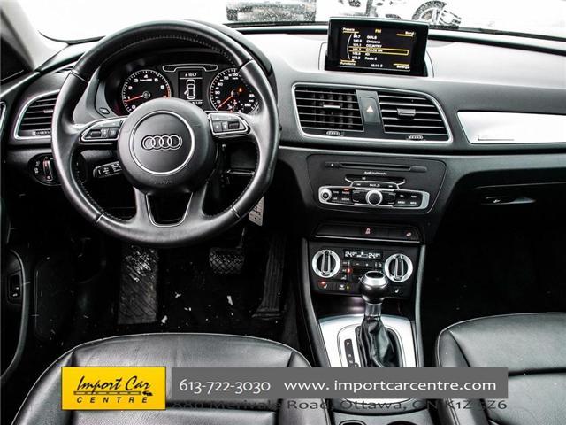2015 Audi Q3 2.0T Progressiv (Stk: 004343) in Ottawa - Image 14 of 24