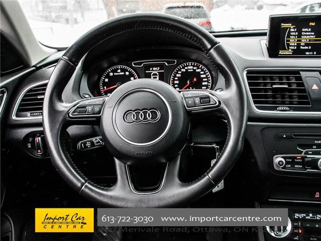 2015 Audi Q3 2.0T Progressiv (Stk: 004343) in Ottawa - Image 20 of 30