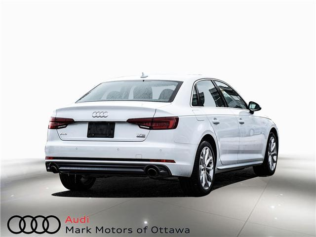2018 Audi A4 2.0T Progressiv (Stk: 90905) in Nepean - Image 4 of 24