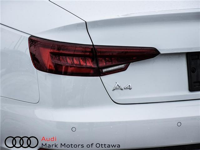 2018 Audi A4 2.0T Progressiv (Stk: 90905) in Nepean - Image 7 of 24
