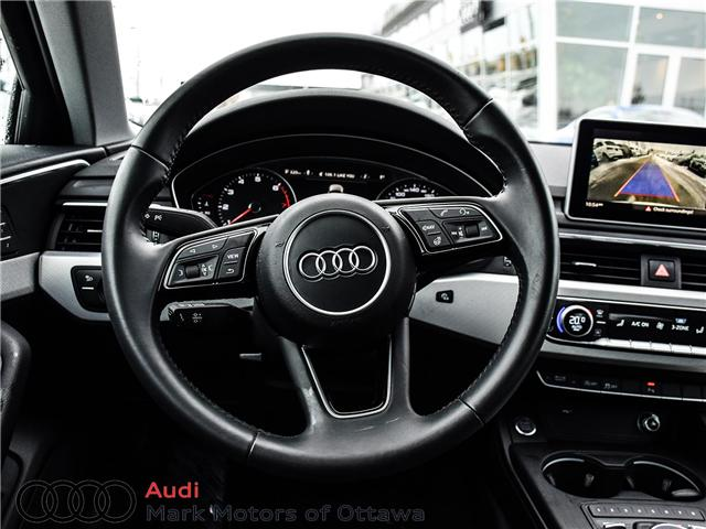2018 Audi A4 2.0T Progressiv (Stk: 90905) in Nepean - Image 14 of 24