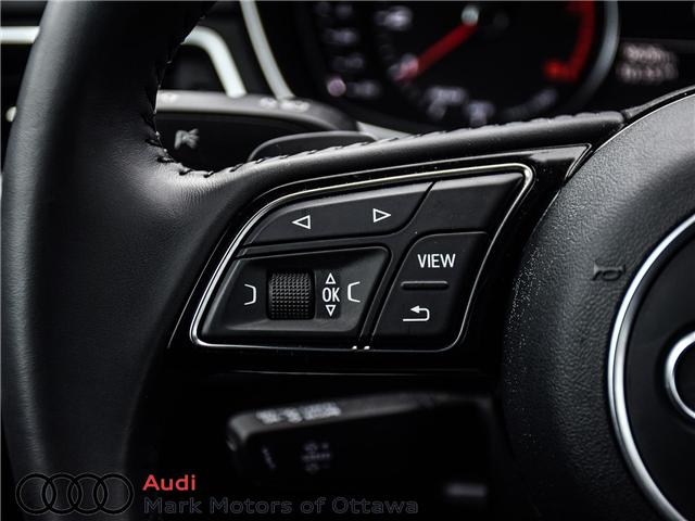 2018 Audi A4 2.0T Progressiv (Stk: 90905) in Nepean - Image 21 of 24