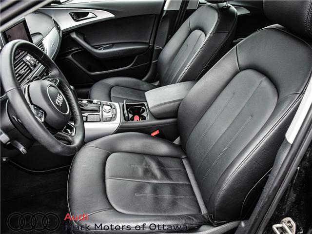 2018 Audi A6 2.0T Progressiv (Stk: 90326) in Nepean - Image 12 of 25