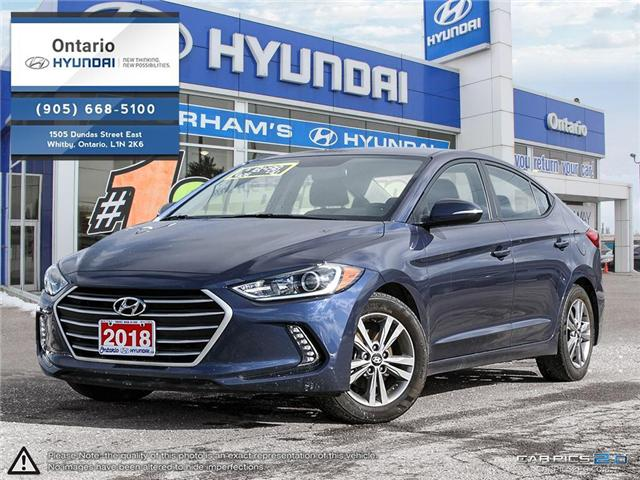 2018 Hyundai Elantra GL / APPLE CAR PLAY KMHD84LFXJU444638 44638k in Whitby