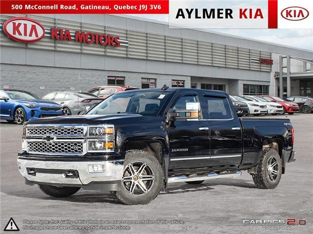 2015 Chevrolet Silverado 1500  (Stk: A1176) in Gatineau - Image 1 of 22