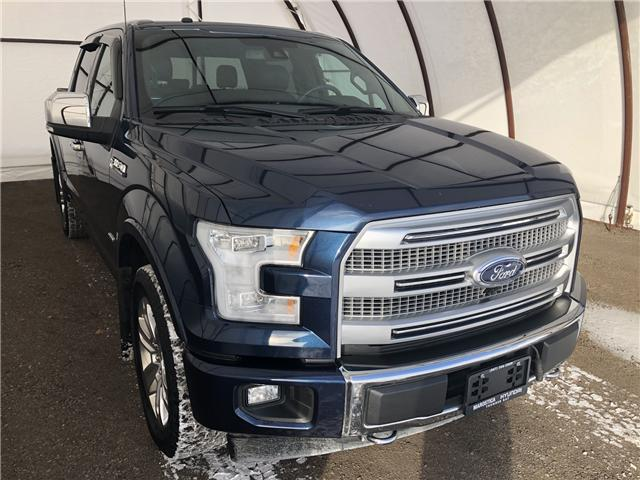 2017 Ford F-150 Platinum (Stk: IU1307) in Thunder Bay - Image 1 of 24