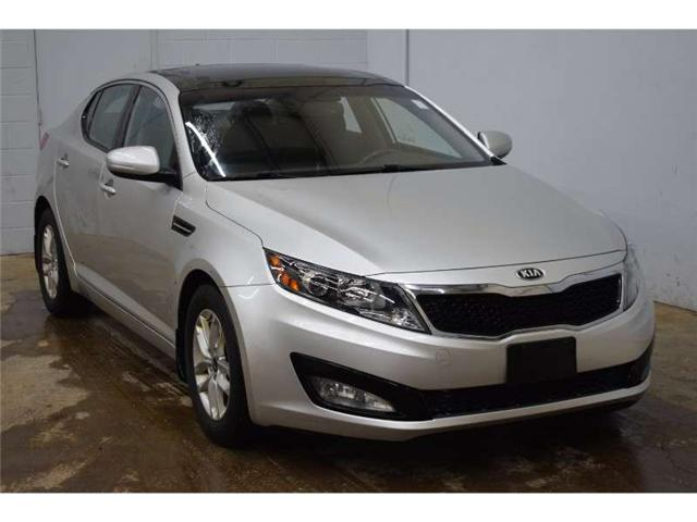 2013 Kia Optima LX+ - HEATED SEATS * PANORAMIC SUNROOF * SAT RADIO (Stk: B3236) in Cornwall - Image 2 of 30