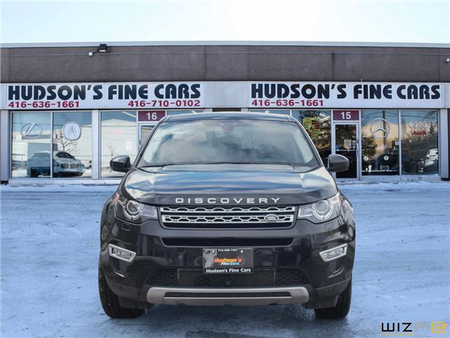 2015 Land Rover Discovery Sport HSE LUXURY (Stk: 24123) in Toronto - Image 2 of 30