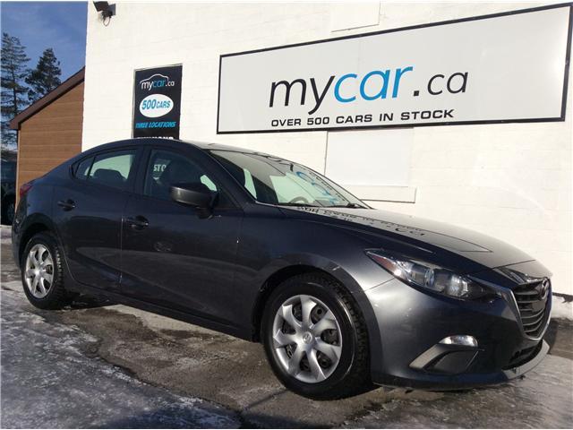 2015 Mazda Mazda3 GX (Stk: 190111) in Kingston - Image 1 of 18