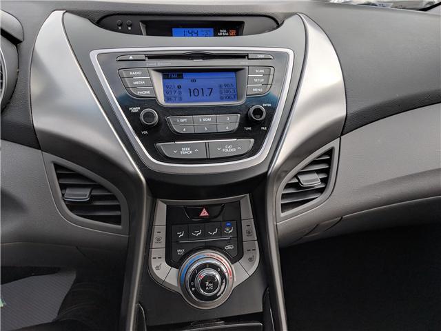 2013 Hyundai Elantra GLS HEATED FRONT SEATS | BLUETOOTH