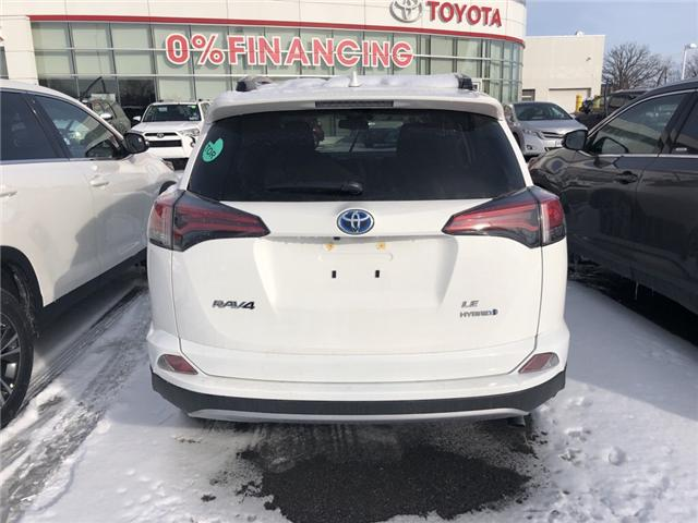 2018 Toyota RAV4 Hybrid LE+ (Stk: -) in Whitchurch-Stouffville - Image 1 of 8
