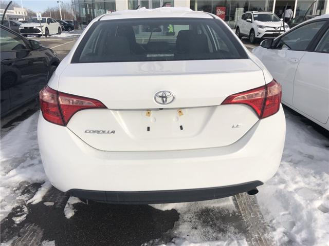 2018 Toyota Corolla LE (Stk: 180568) in Whitchurch-Stouffville - Image 2 of 6