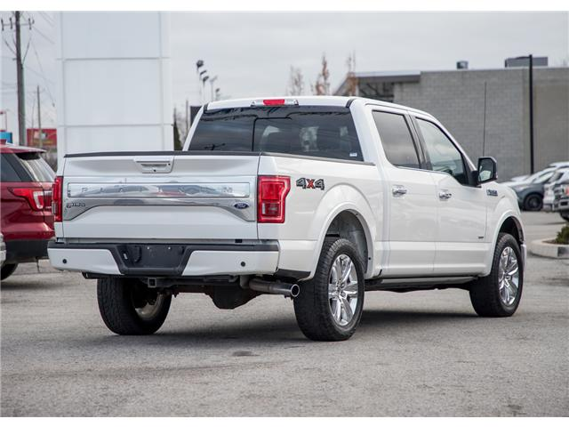 2015 Ford F-150 Platinum (Stk: 602672) in  - Image 2 of 28