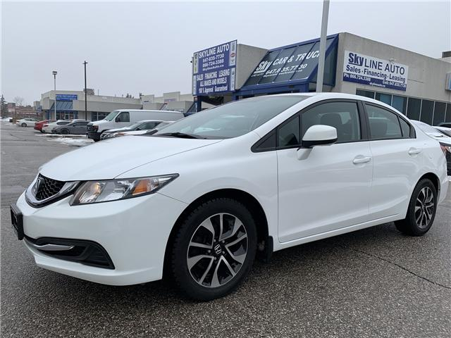 2013 Honda Civic EX (Stk: ) in Concord - Image 1 of 17