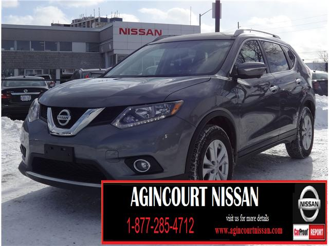 2014 Nissan Rogue SV (Stk: U12400) in Scarborough - Image 1 of 22