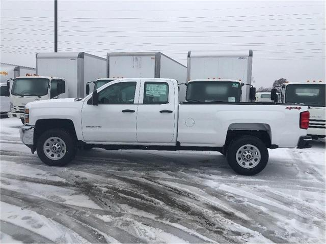 2019 Chevrolet Silverado 2500HD New 2019 Chevrolet 2500 4x4 Dbl Cab Plow Package (Stk: PU95443) in Toronto - Image 2 of 14