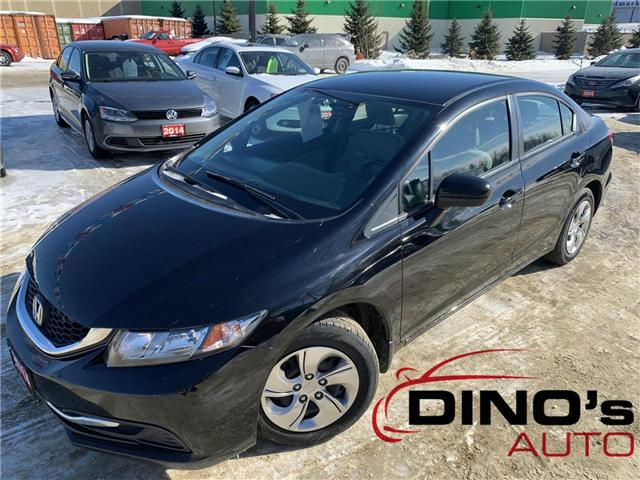 2014 Honda Civic LX (Stk: 010381) in Orleans - Image 1 of 23
