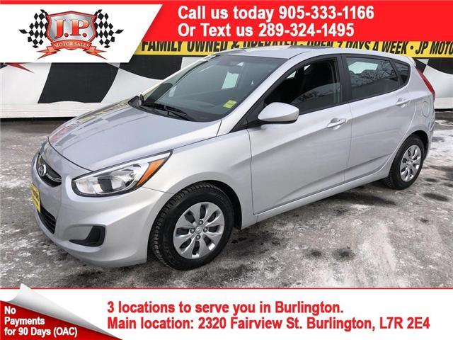 2017 Hyundai Accent  (Stk: 46101r) in Burlington - Image 1 of 23