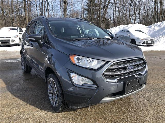 2019 Ford EcoSport Titanium (Stk: ET19223) in Barrie - Image 7 of 27