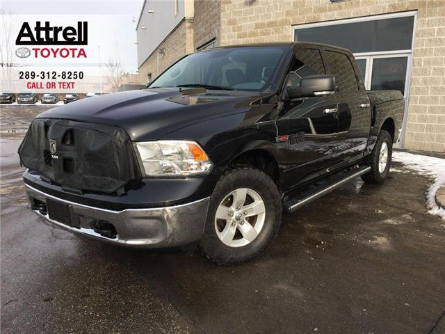 2015 RAM 1500 SLT 4X4 ALLOY WHEELS, BED LINER, TINT, HITCH, SIDE (Stk: 38362A) in Brampton - Image 1 of 24