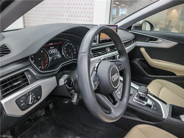 2018 Audi A4 2.0T Progressiv (Stk: 181786A) in Toronto - Image 10 of 28