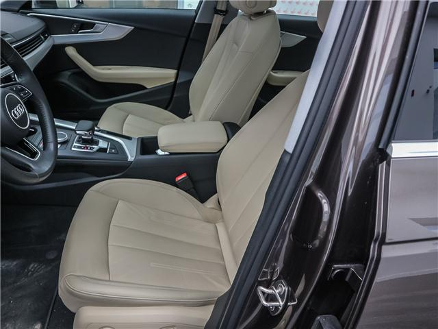 2018 Audi A4 2.0T Progressiv (Stk: 181786A) in Toronto - Image 11 of 28