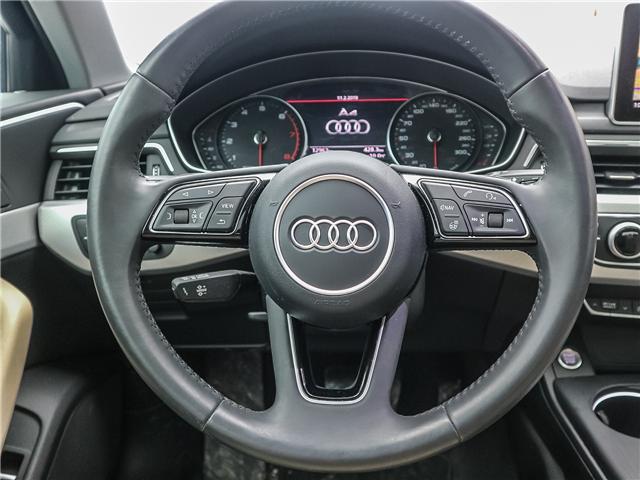 2018 Audi A4 2.0T Progressiv (Stk: 181786A) in Toronto - Image 12 of 28