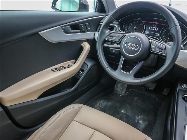 2018 Audi A4 2.0T Progressiv (Stk: 181786A) in Toronto - Image 13 of 28