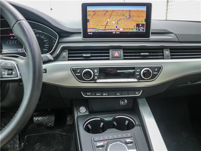 2018 Audi A4 2.0T Progressiv (Stk: 181786A) in Toronto - Image 14 of 28